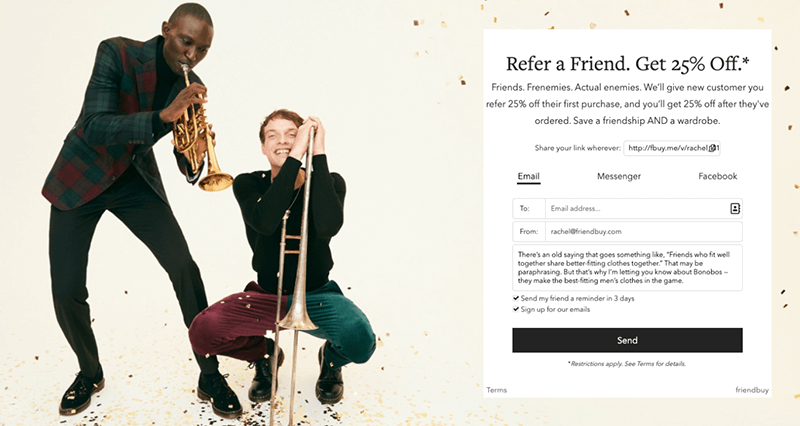 5 Holiday Referral Marketing Strategies to Boost Sales This Season - Bonobos