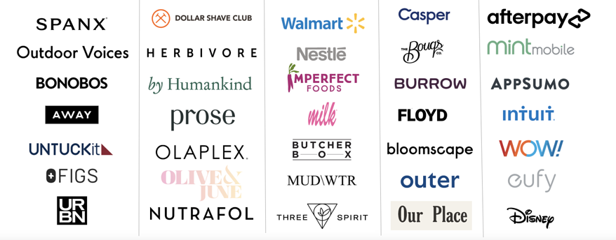 Customer Logos March
