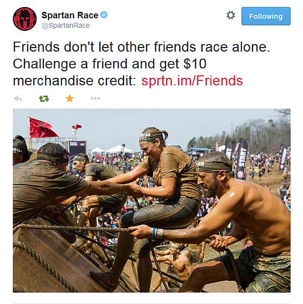 Spartan Race referral incentive