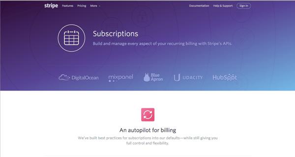 stripe subscription management