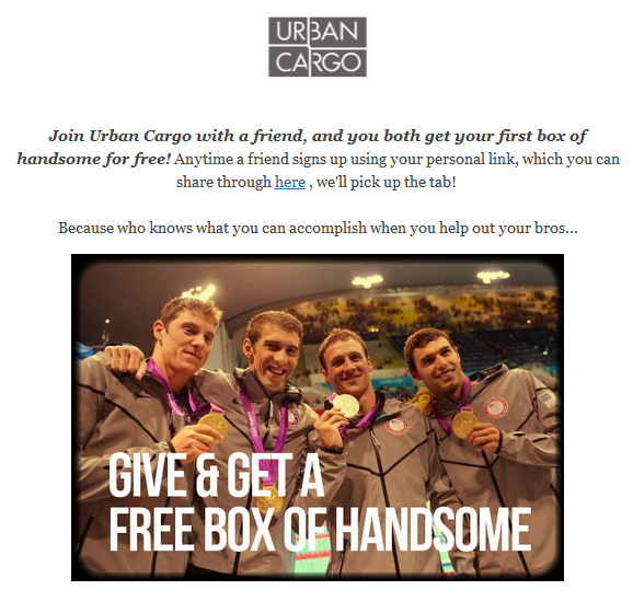 Urban Cargo Stand Alone Email