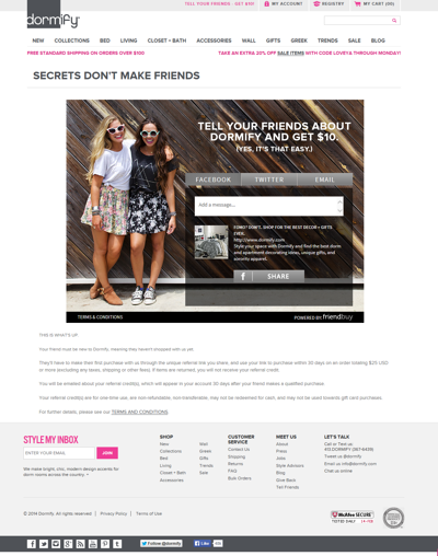How to Promote Your Customer Referral Program - Part 1 of 2 - Dormify