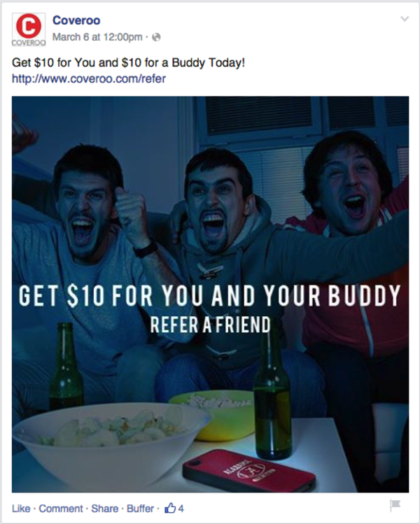 facebook promotional post