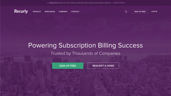 recurly billing